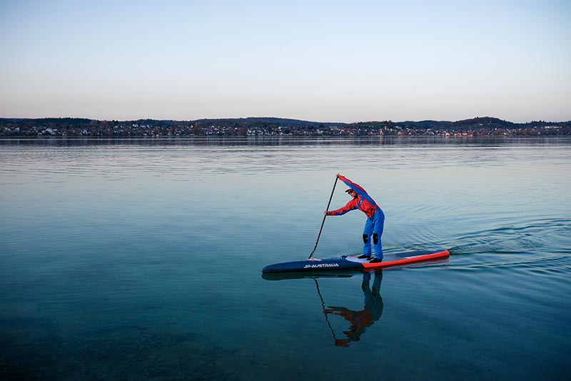 SUP - Stand Up Paddling Bodensee - Gnadensee